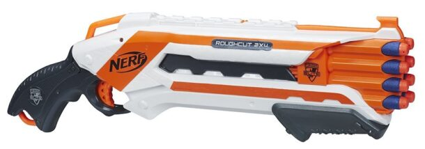 The NERF-N-Strike-Elite-Rough-Cut-2x4-Blaster.