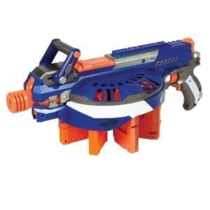 Which NERF gun holds the most darts?