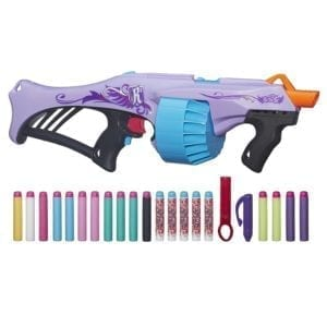 Nerf Rebelle Rapid Glow Blaster includes 10 glow darts shoots 75ft Brand New